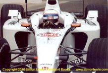 BAR Honda 004 Anthony Davidson. photo . Silverstone test 2002 (A)